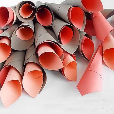 DIY: Paper dahlia