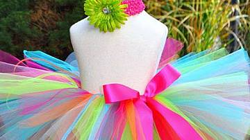 How to make a tutu skirt from tulle